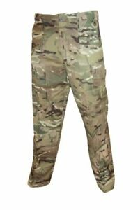 British Army MTP (Multi-Terrain Pattern) Windproof Trousers Excellent