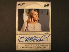 2019 Upper Deck James Bond 007 Trading Card Series Britt Ekland Autograph