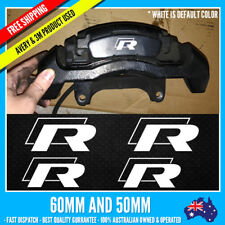 Volkswagen VW Golf scirocco R Brake Replacement High Temp Vinyl Sticker