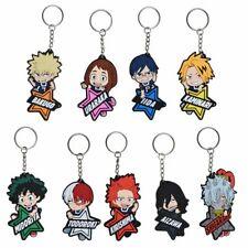 Anime My Hero Academia PVC Keychain Charakter Anhänger Schlüsselanhänger Keyfobs