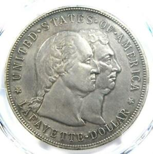 1900 Lafayette Silver Dollar $1 - PCGS XF Details (EF) - Rare Certified Coin!