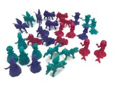 28 Princess Ponies & Fairies Plastic Counters Cupcake Toppers or Party Favors