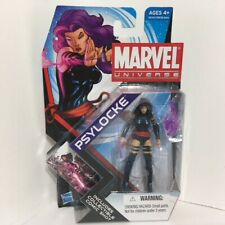 Psylocke #005 Series 4 Marvel Universe 2011 NEW MOSC Hasbro Action Figure
