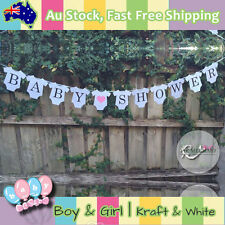 Baby Shower For Girl Banner Baby Clothes Shaped Party Decorations CardBoard Cute