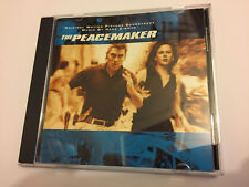 THE PEACEMAKER (Hans Zimmer) OOP 1997 Dreamworks Soundtrack Score OST CD NM