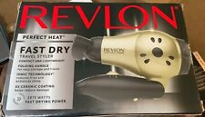 Revlon Compact Light Weight Travel Hair Dryer Fast Dry Blower Best Ionic Salon