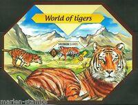 SOLOMON ISLANDS  2014 WORLD OF TIGERS   SOUVENIR SHEET  MINT NH