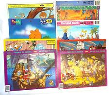 8 Disney Frame-Tray Puzzles - EUC - COMPLETE