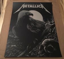 Rare 2018 Metallica 4/30 Concert Poster Leipzig Germany Arno Kiss Numbered x/350