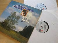 2 LP Renate & Werner Leismann Drei weiße Birken Vinyl Ariola 86 983 XBU