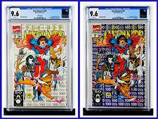 New Mutants #100 Set Of 2 CGC Graded 9.6 Marvel April 1991 Comic Books