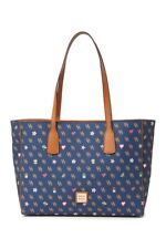 Dooney & Bourke Gretta Novelty Ashton Signature Tote Bag - Navy