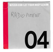 SP 45 TOURS NITZER EBB LET YOUR BODY LEARN en 1987 VIRGIN 90324