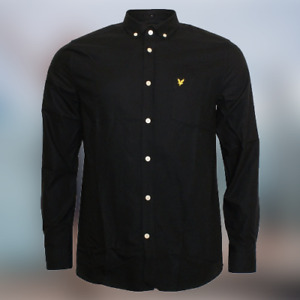 LYLE & SCOTT Casual Button Down Oxford Shirt Long Sleeve !! 5 Colors !!