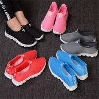 Mode été respirant réseau femmes Casual Chaussures Slip-on