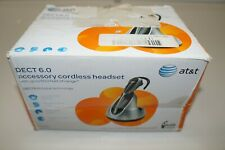 AT&T TL7600 Silver/Black Ear-Hook Headsets ( Missing  Headset Bluetooth )