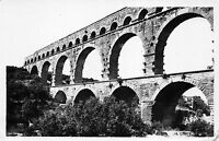 BR11425 le pont du gard chateau de st privat  real photo  france