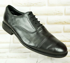 Clarks ACTIVE AIR Negro Cuero Hombre Formal Informal Zapatos Talla 9.5 G UK 43.5 EU