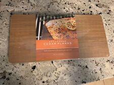 Williams Sonoma Cedar Wood Planks for Grilling Set of 4
