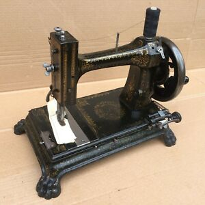 Antique Rare Improved Nelson Sewing Machine