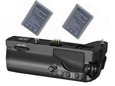 Powerful Grip Pack for Olympus OM-D E-M1 OMD EM1 + 2x BLN-1 Battery