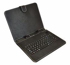 """Micro USB TECLADO Funda Cubierta para 9"""" PULGADAS tablet. CUENTA CON IVA"""