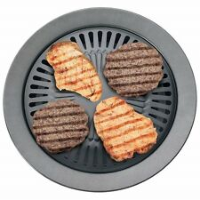 New Smokeless Indoor STOVETOP BBQ GRILL Barbeque Kitchen Barbecue Pan Griddle
