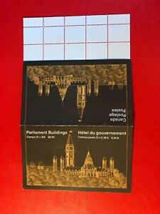 CANADA 1987 MNH BOOKLET PARLIAMENT BUILDINGS 02