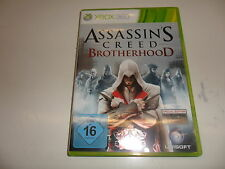 XBOX 360 Assassin 's Creed Brotherhood-d1 versione (Uncut)