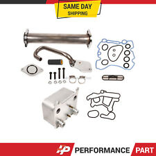 EGR Delete Kit & Engine Oil Cooler Kit Ford 6.0L F-250 F-350 F-550 Diesel Turbo