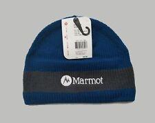 6cc5a22dd47 Marmot Drew Hat Fleece Lined Beanie 100% Acrylic Blue Sapphire NWT New  0672-2775