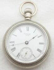 15 17J Pocket Watch New listing Antique 18S Waltham Grade