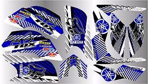 YAMAHA RAPTOR 660R full graphics kit 2001 2005..THICK AND HIGH GLOSS