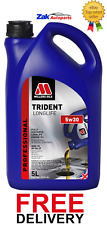 MILLERS TRIDENT LONGLIFE 5w30 Fully Synthetic Performance Engine Oil - 5L