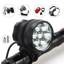 10000LM 7x CREE XML T6 LED Frontale Bici Bicicletta Luce Faro Lampada 12000mAh