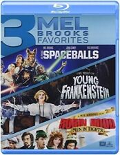 Spaceballs / Young Frankenstein / Robin Hood [New Blu-ray] Pan & Scan