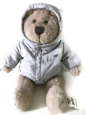 Baby Gap Plush Bear Gray Jacket NWT New With Tags Brannan Pudgie Tummy Toy