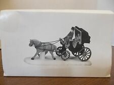department dept 56 christmas village accessory central park carriage horse ride