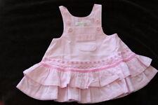 NEW! Pottery Barn Kids Pink Corduroy Jumper Dress 0-3 M