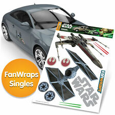 STAR WARS TIE FIGHTER & X-WING Automotive Graphics Decal Kit