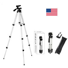 Adjustable Professional Camera Tripod Stand Mount Holder For Cell Phone Gopro Us