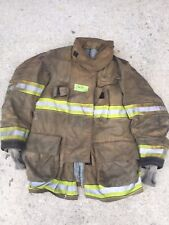 Firefighter Globe Turnout Bunker Coat 43x35 G Xtreme No Cut Out 2011