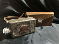 Vintage Bell & Howell 16mm Video Camera, Leather Hardbody Carrying Case