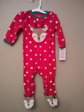 Brand New Carter's just one you Christmas pajamas 6m
