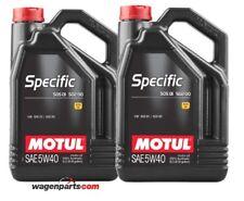 Aceite Motul Specific VW Audi Seat Skoda 50501 50200 50500 5W40, pack 10 litros
