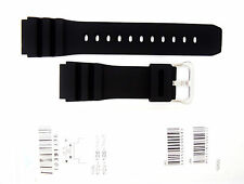 CASIO WATCH BAND:  10391336   BAND FOR MDV-106 MDV106  Black Resin Band