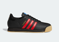 adidas Originals Samoa Vintage Trainers in Black and Scarlet Shoes