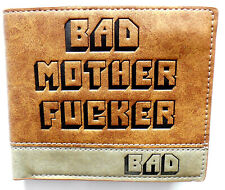 Jules Pulp Fiction Bad Mother Wallet card slots id window zipped coin pocket