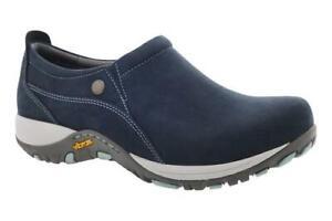 Dansko Patti Navy Nubuck Waterproof Comfort Shoe - NEW - Choose Size