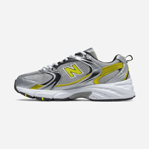 New Balance 530 Retro - Silver Yellow / MR530SC / Running Shoes Sneakers